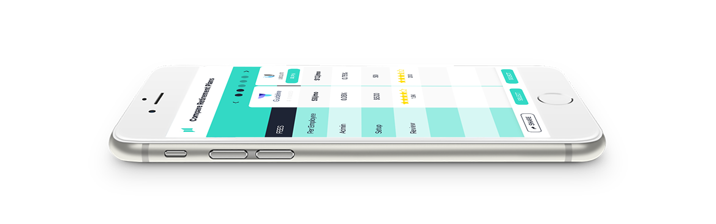 Mobile User Interface Comparison by UX Consultant Nate Chen